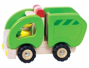 Holzfahrzeug Müllwagen