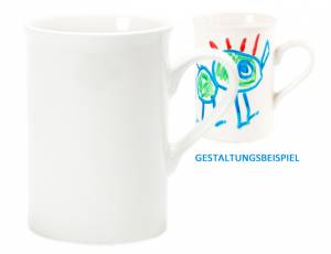 Tasse aus Porzellan - 300 ml