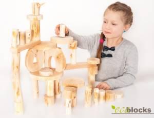 Baumscheiben-Bausteine - ecoblocks 36 | entrindet