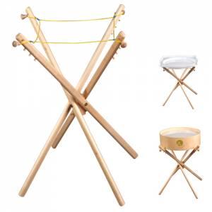 Leuchtkübel - Klappstand aus Buche (Einzelstück)