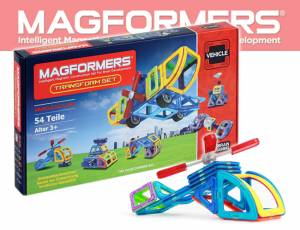 Magformers Transform Set - 54 Teile