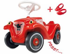 BIG Bobby Car Classic mit Flüsterreifen & Schuhschonern