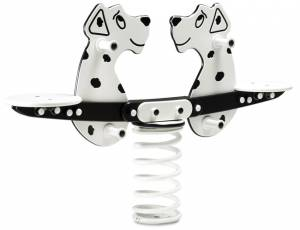 Federspielgerät Dalmatiner-Doppelwippe