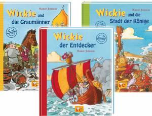 Buchpaket Wickie, der Wikinger (3er Set)