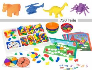 Zähl- und Sortierbox XXL | 750 Teile