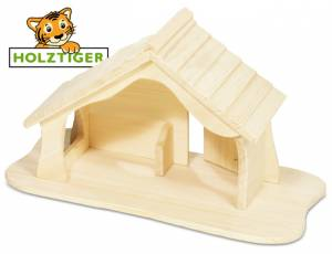 Holztiger Weihnachtskrippe | Puppenhaus | Bauernhof