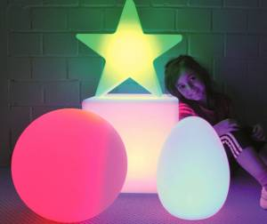 LED Motivlampe in verschiedenen Formen
