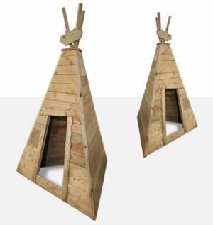 Indianerzelt Tipi - Kleiner Büffel | Dreieckig