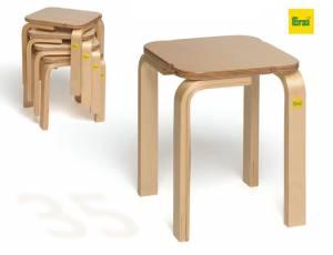 Stapelhocker Fritz - Sitzhöhe 35 cm | Erzi