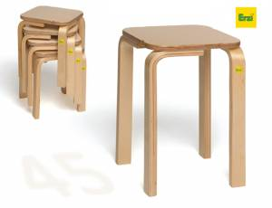 Stapelhocker Fritz | Sitzhöhe 45 cm
