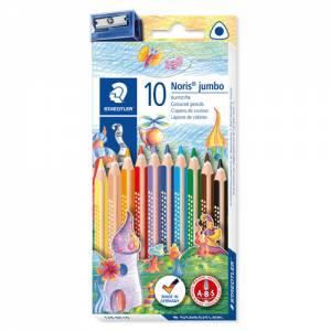 Staedtler Jumbo 10 Farbstifte im Etui