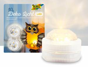 Dekolicht LED 10er Set