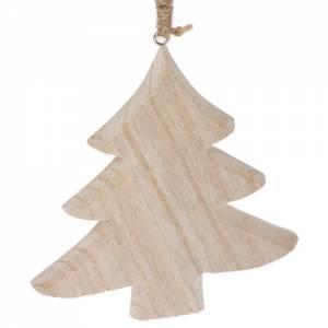 Holzanhänger Tannenbaum