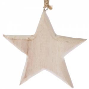 Holzanhänger Stern
