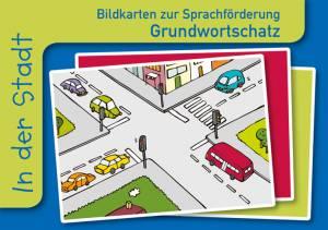 Grundwortschatz Fotokarten zur Sprachförderung - In der Stadt