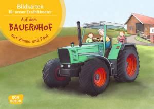 Kamishibai - Auf dem Bauernhof mit Emma und Paul