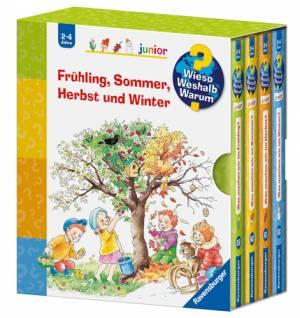 Frühling, Sommer, Herbst und Winter | Vier Bücher im Schuber
