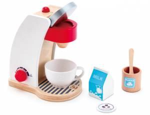 Kinderküche - Hape Kaffeemaschine 6-teilig
