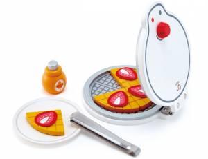 Kinderküche - Hape Waffeleisen 12-teilig