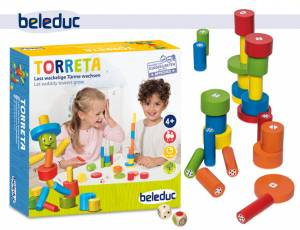 Torreta | Lass wackelige Türme wachsen