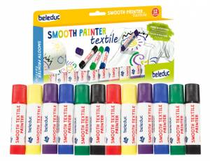 Smooth Painter Textile 12er Set