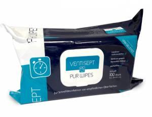 Desinfektionstücher Ventisept Pur Wipes   100er Packung