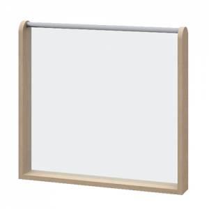 Raumteiler Acryglaswand | Höhe 60 cm