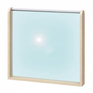 Raumteiler Spiegel & Magnettafel | Höhe 60 cm