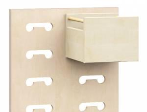 Raumteiler Rasterwand | Zubehör Materialkasten