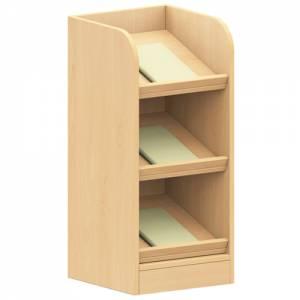 Fächerschrank Seitenelement - Bücherschrank (Tiefe 40 cm)