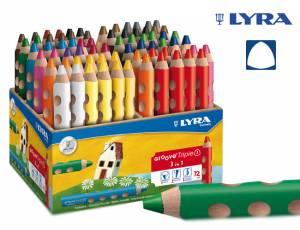 Lyra Groove Triple 1 | 72 Stifte im Holzaufsteller