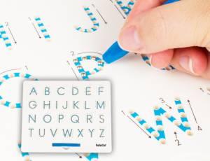 Zeichentafel magnetisch ABC | 28 x 25,5 cm