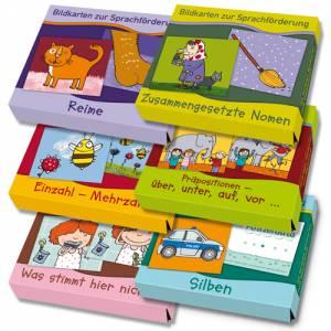 Bildkarten zur Sprachförderung 6er Set | 192 Bildkarten