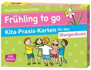Kita-Praxis-Karten: Frühling to go