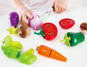 Kinderküche - Gartengemüse, 8-teilig