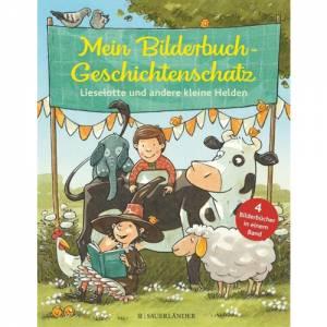 Mein Bilderbuch-Geschichtenschatz: Lieselotte und andere kleine Helden
