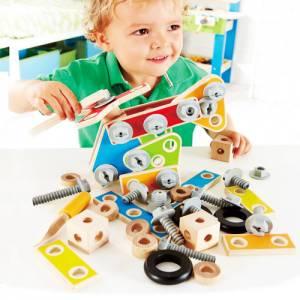 Spielwerkzeug - Bauset | 62 Teile