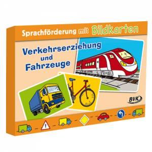 Sprachförderung mit Bildkarten: Verkehr