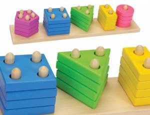 Sortierspiel Farben und Formen | 21-teilig