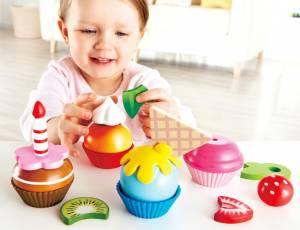 Kinderküche - Kuchen   Cupcakes 18-teilig