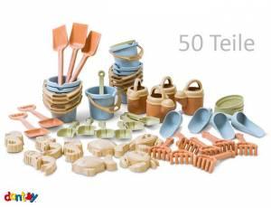 Dantoy BIOplastic Sandspielzeug Set | 50-teilig
