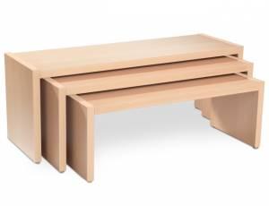 Sitzbank 3er Set