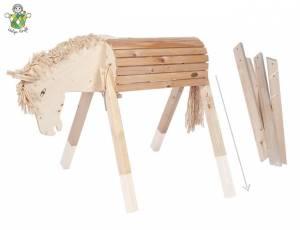 Helga Kreft | Gartenpferd Susi - Lange Beine Ergänzungsset