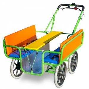 Kindertransportwagen Bunt - Ausflugswagen Krippe