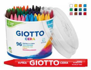 Giotto Cera 96er Set