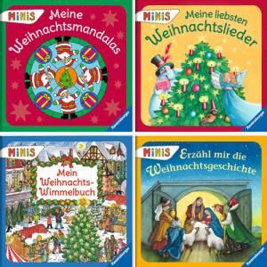 Ravensburger Minis Nr. 122 - Wundervolle Weihnachten | 40er Set