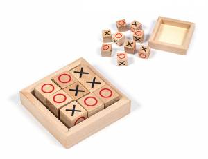 Tic Tac Toe | Holzspiel