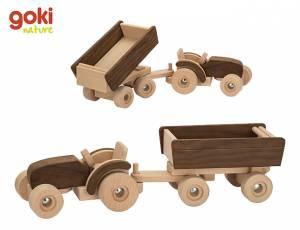 goki nature | Traktor mit Anhänger