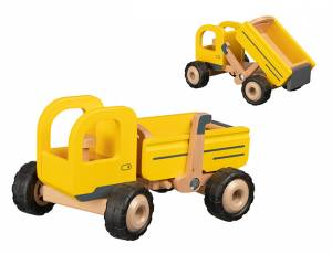 Baufahrzeuge mit Gummibereifung   Kipper