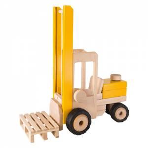 Baufahrzeuge mit Gummibereifung | Gabelstapler